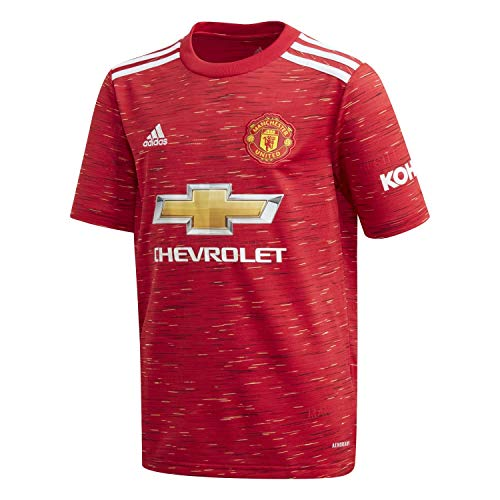 adidas Manchester United Temporada 2020/21 MUFC H JSY Y Camiseta Primera equipación,...