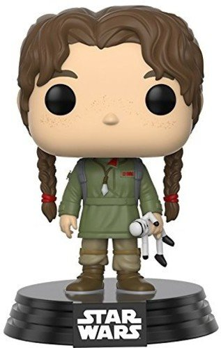 Star Wars-Funko Pop Joven Figura de Vinilo Young Jyn ERSO, colección Rogue One, Multicolor 14872