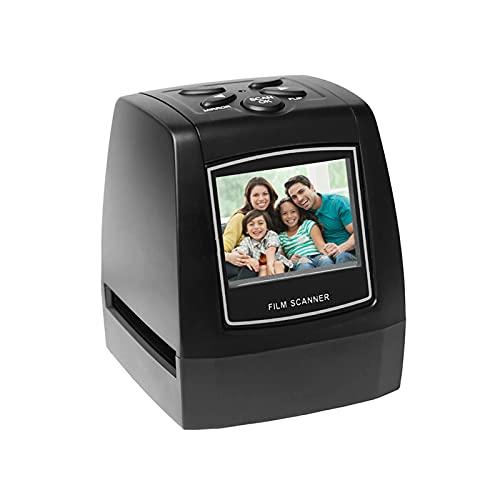 Aibesy scanner diapositive, convertitore negativi in digitale, Pellicola protettiva per negativi 35mm 135mm Slide Film Converter Photo Digital Image Viewer con 512 MB di memoria incorporata Software