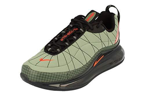 Nike Mx-720-818 GS In Esecuzione Formatori Cd4392 Scarpe Da Ginnastica Scarpe, verde (Jade Stone Team Arancione 300), 37 EU