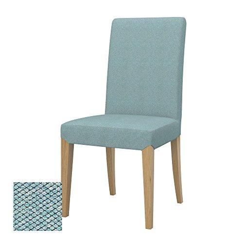 Soferia Bezug fur IKEA HENRIKSDAL Stuhlbezug, Stoff Nordic Sea Green
