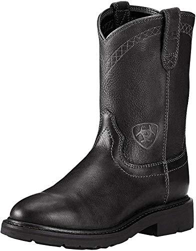 Ariat Men's Sierra Work Boot, Black, 10.5 EE US