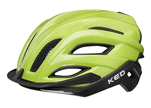 KED Champion Visor L Green Black - Casco para bicicleta (58-61 cm,...