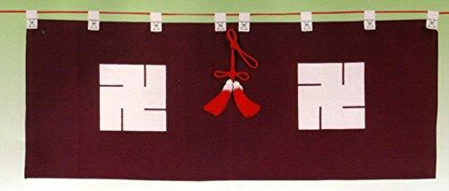 御神幕 【地蔵卍紋】50号 ブロード生地
