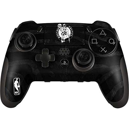 Skinit Decal Gaming Skin Compatible with Playstation Scuf Vantage 2 Controller - Officially Licensed NBA Boston Celtics Black Animal Print Design