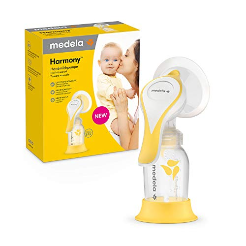 Tire-lait manuel Medela Harmony - Design compact avec téterelle PersonalFit Flex et fonction stimulation