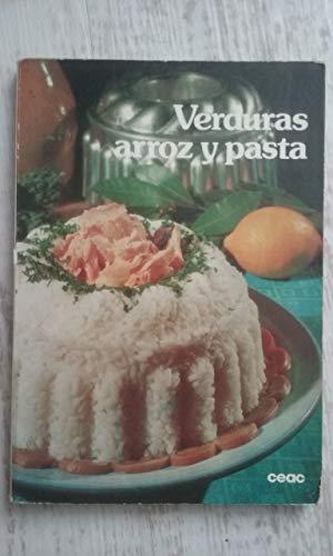 Verduras, arroz y pasta