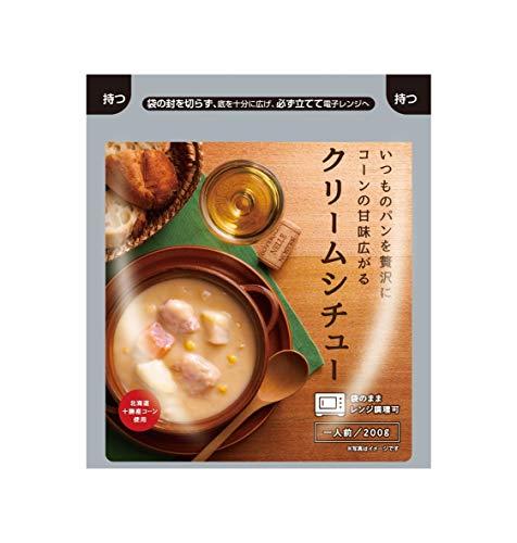[カネカ食品] いつものパンを贅沢に コーンの甘味広がるクリームシチュー 200g×10袋