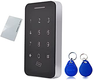 Touch Keypad Cabinet Lock Electronic Cabinet Lock Kit Set with RFID Keys & 5V DC Power Port Backup for Jewelry Box Baby Pr...