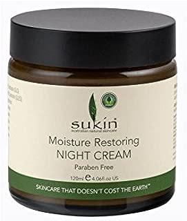 Sukin Moisture Restoring Night Cream (120ml) (Pack of 6)