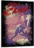RZHSS Musiksänger The Clash Poster Dekorative Malerei