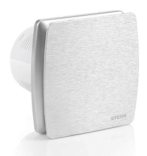 STERR - Silber Aluminium Ruhiger Badezimmerlüfter - LFS100-QS
