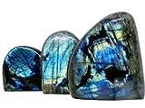 Labradorite, Grosse pierre labradorite, forme libre, labrado