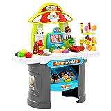 Festnight Tienda de Juguete para Niños Supermercado Tienda Supermarket 51 Piezas 68x25x67,5 cm