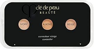CLÉ DE PEAU BEAUTÉ Concealer Sample Card (ivory, almond, beige), .02 oz