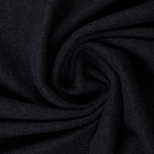 Walkloden - Tela para traje regional (lana virgen 100%, 0,5 m) marine
