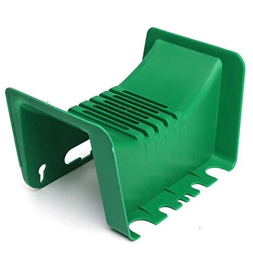 xingxing Storage & Organization - Soporte de plástico para tubos de jardín (montaje en la pared, peso ligero)