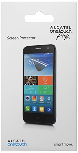 Alcatel gbnh27 K0051 C7 – Bildschirmschutzfolie (Alcatel, Handy/Smartphone, Transparent, Alcatel One Touch Pop D5)