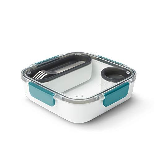 Black+Blum Lunch Box Original Lunchbox, Kunststoff, Ozean, 1000 ml/ 34f l oz
