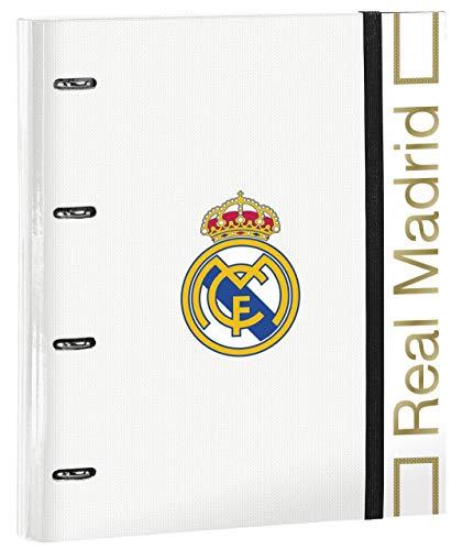 Carpetas y tableros con pinza Multicolor Real Madrid