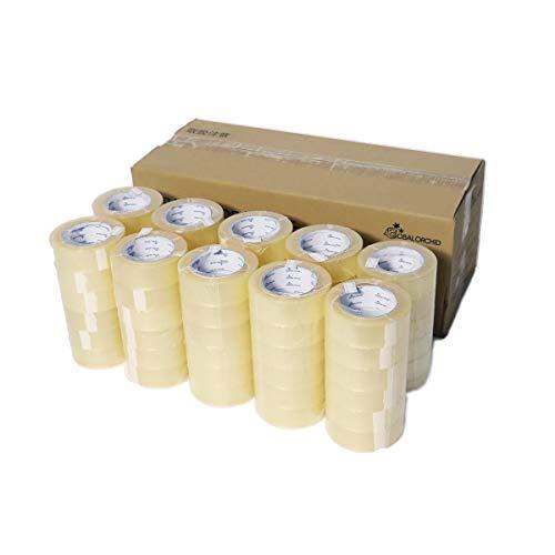 アースダンボール 緩衝材 梱包用テープ 透明 OPP 1ケース(60巻き) 【36mm×100m巻】【2720】