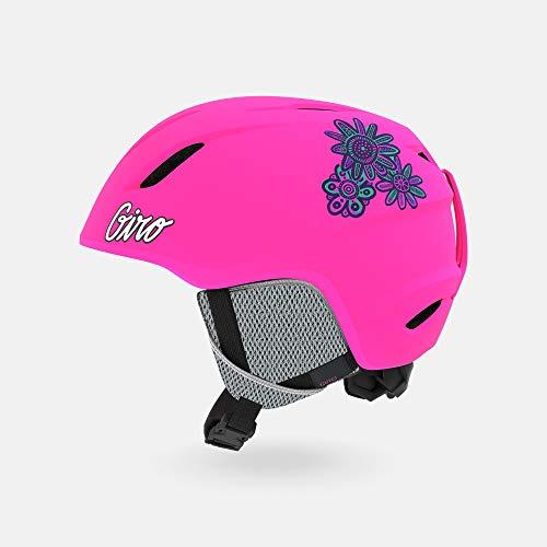 Giro Snow Launch Casque de Ski Unisexe pour Enfant Rose Vif Taille XS