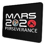NASA Mars 2020 Perseverance Rover Alfombrilla Antideslizante para Juegos, computadora de Escritorio, computadora portátil, Alfombrilla de Mouse, Borde Cosido