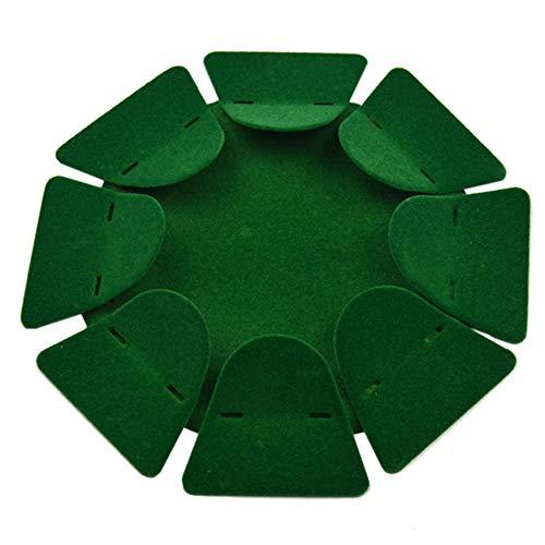 WUQIUYU Grünes Beflocken im Bürohaushalt im Freien mit stabilem Putterbecher Golfzubehör Trainingshilfen