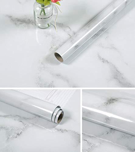 Marmor wasserdichte Tapete Kontaktpapier PVC Wandaufkleber Marmor Arbeitsplattenaufkleber Küche Badezimmer Selbstklebend-CX6_300cm_X_55cm