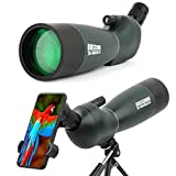 Best Spotting Scopes - 20-75x70 Zoom HD Spotting Scope with Tripod, Carrying Review