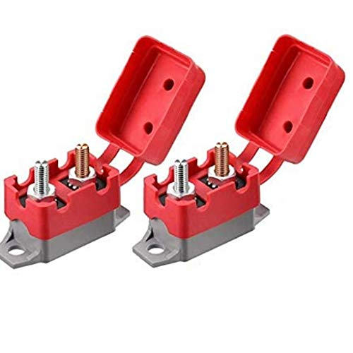 Hotaden12V / 24V 40A Restablecimiento automático del Interruptor automático Auto Reset Portafusible Waterptoof para la Protección del Sistema