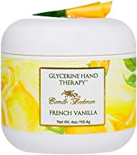 Camille Beckman Glycerine Hand Therapy Cream, French Vanilla, 4 Ounce