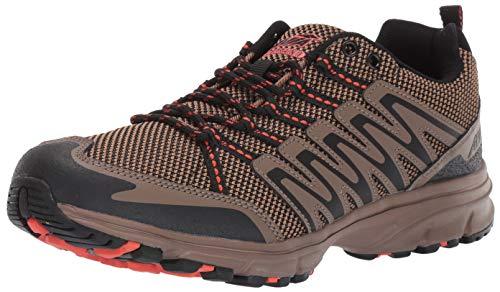 Avia mens Avi-terrain Ii Sneaker, Outback Tan/Chocolate Chip/Calypso Orange, 9.5 US