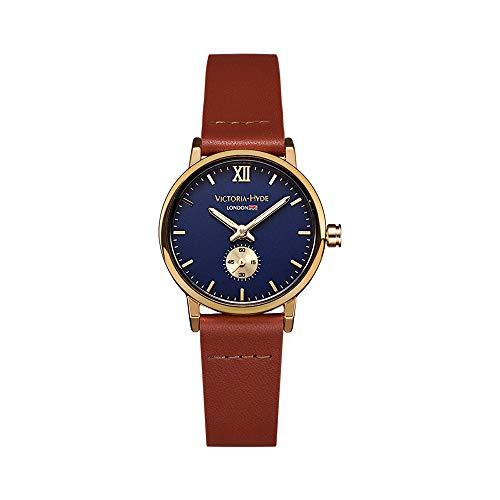 VICTORIA HYDE Klein Uhr Damen Analoges Quarzwerk Leder Armband