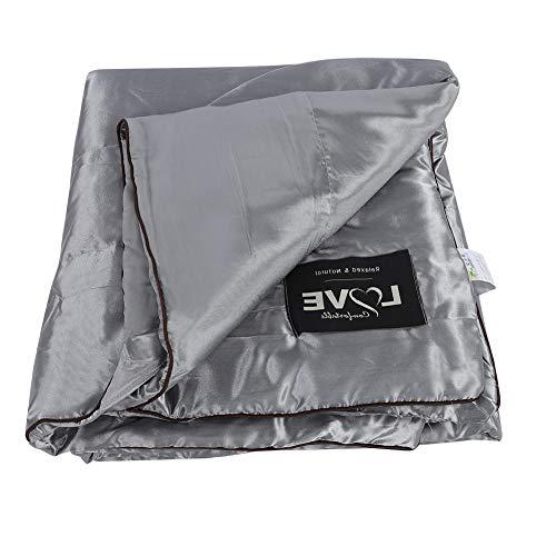 Acouto waschbare Sommerdecke, Summer Quilts, aus 100prozent Ice Silk Material, waschbar Ice Silk Summer Air Conditioning Quilt, leicht & atmungsaktiv (180 * 220cm)