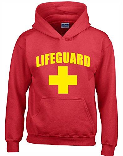 Crown Designs Lifeguard Neuheit Geschenk Unisex Pullover Für Männer, Frauen Und Jugendliche (Rot/Medium)