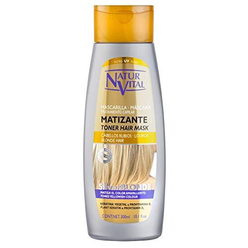 NaturVital Mascarilla Silverblonde Matizante 300 ml
