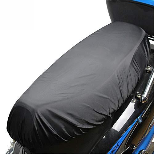 Enjoyyouselves Sitzbankabdeckung,Motorrad Sitzbankbezug Oxfordtuch + PU Tuch, Motorrad Roller Moped Sitzbezug Sitz Motorradbezug Leichte Sitzbezug Outdoor Wasserdicht Regen Staub UV Schutz
