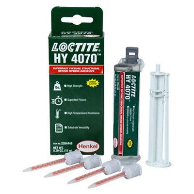 LOCTITE® HY 4070 ist ein Zweikomponenten-Hybridklebstoff Cyanacrylat/Acryl Gel farblos