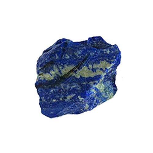 Weehey 100g Lapislazzuli Ruvido Naturale Cristallo Pietra preziosa Grezza Pietra Minerale Serbatoio di Pesce Decor Gioielli Fai da Te