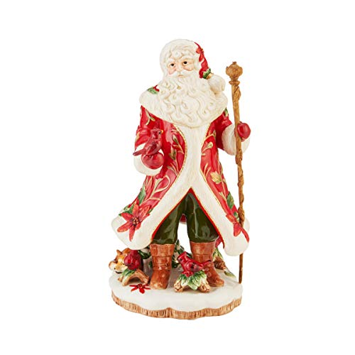 Fitz and Floyd Cardinal Christmas Collectible Figurine, Muli Colored -  Lifetime Brands Inc., 49-860