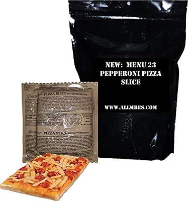 US Military Pepperoni Pizza MRE - FULL MEAL (Menu 23 / NEW 2019)