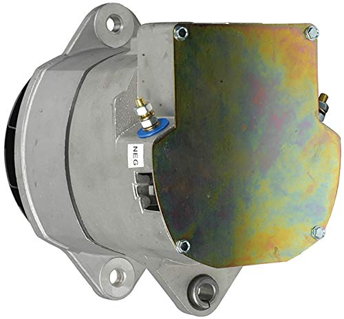 Alternator Compatible With/Replacement For 10L Cummins L Series 1994 0R5203, 4N3986, 3000347, 3604685RX, 1117746, 1117772, 1117774, 1117784, 1117786, 1117826, 1117834, 321-645, 321-696 7263 60Amp