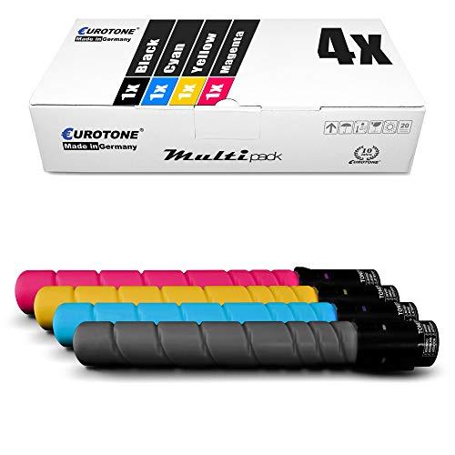 4X Müller Printware Toner für Konica Minolta Bizhub C 220 280 ersetzt TN216 TN216