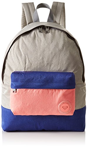 ROXY Medium Colo Sugar Baby backpack in colour block style for women, lady pink, 1SZ