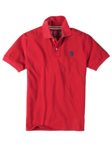 Bogner Fire + Ice  Herren Polo TOMMY, red, 46, 84332703_575