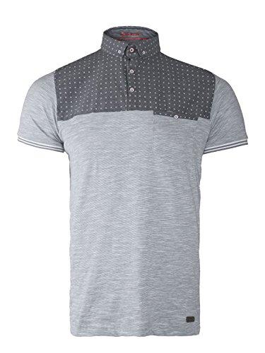 BRAVE FASHION POLO diseño elegante para hombre SOUL para el cuello T-camiseta de manga corta de pantalón corto de bolsillo en la manga-de manga corta de mujer