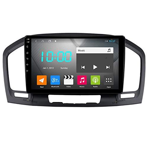 Nav Android 10.0 Car Stereo Double DIN para Buick Regal 2009-2013 Navegación GPS Unidad Principal de 9 Pulgadas Reproductor Multimedia MP5 Receptor de Video y Radio con 4G WiFi DSP
