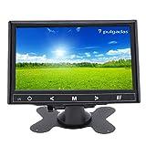 Monitor HDMI portatile da 7 pollici 1024 x 600 HD LED Display CCTV Monitor con HDMI VGA AV Porta Remote Control per auto Sicurezza Raspberry Pi PC