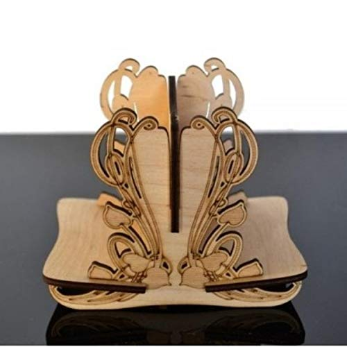 e-Raptor era93696 – Board Game Card Holders – Wooden – 2L DIY – Elven, Jeu de Cartes